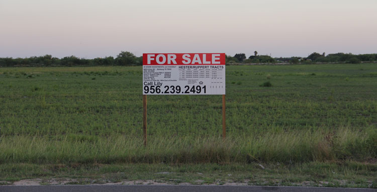 Terrenos en venta en Edinburg. Land for sale in Edinburg